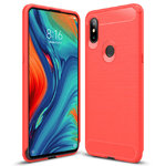 Flexi Slim Carbon Fibre Case for Xiaomi Mi Mix 3 5G - Brushed Red